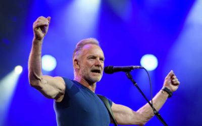 Sting cancela varios conciertos por problemas de salud